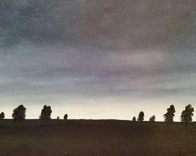 Hush - Oil Painting - Landscape