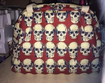 Skull overnight bag