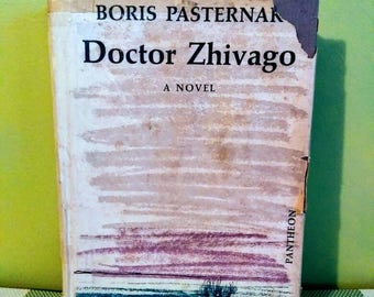 Doctor Zhivago by Boris Pasternak, first Edition 1958