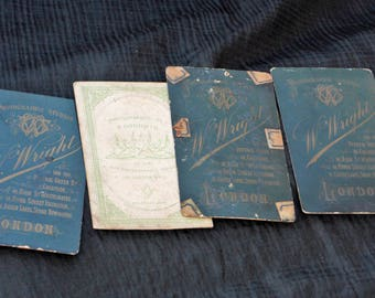 Victorian Business Cards