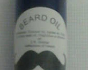 Beard, mustache, hair oil for men 2 oz