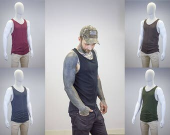Curved Hem Layering Tank || Multiple Color Options ||
