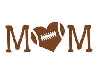 Football Mom, Mom Decal, Football Mom Decal, Football Decal, Sports Decal, Football, Car Decal, Yeti Decal, Decal, Tumbler Decal