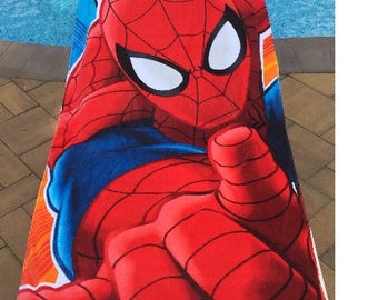 Spider-Man Beach Towel Spidey Towel Ultimate - Personalized Beach Towel