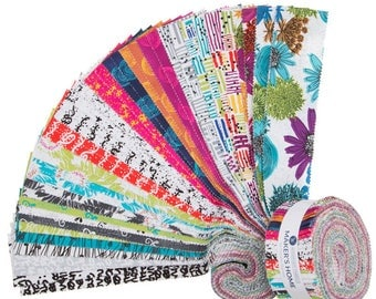 """Makers Home 2.5"""" Strips by Natalie Barnes of Beyond the Reef for Windham Fabrics"""