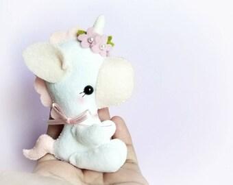 Magic Unicorn PDF sewing pattern-DIY-Baby Unicorn toy pattern-Nursery decor-Instant download-Baby's mobile toy-toy pony-baby horse-Unicorn