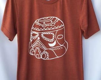 Stormtrooper Unisex T-shirt. Star Wars Unisex Stormtrooper . Day of the Dead Stormtrooper T-shirt. Gift Friendly .