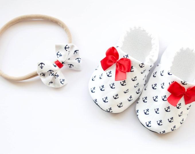 Sailor shoes and headband