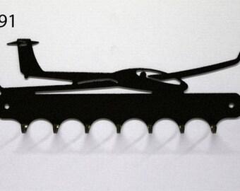 Hangs 26 cm pattern metal keys: glider