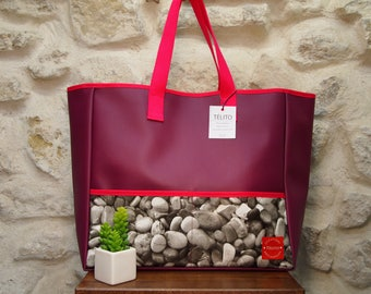 Large Pebble oilcloth Tote