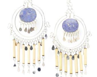 Statement Earrings dangle earrings gift for her earrings boho earrings long earrings tribal earrings bohemian earrings girlfriend gift