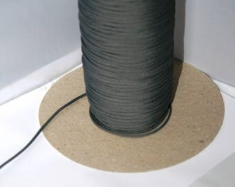 Polyester thread 2mm dark grey