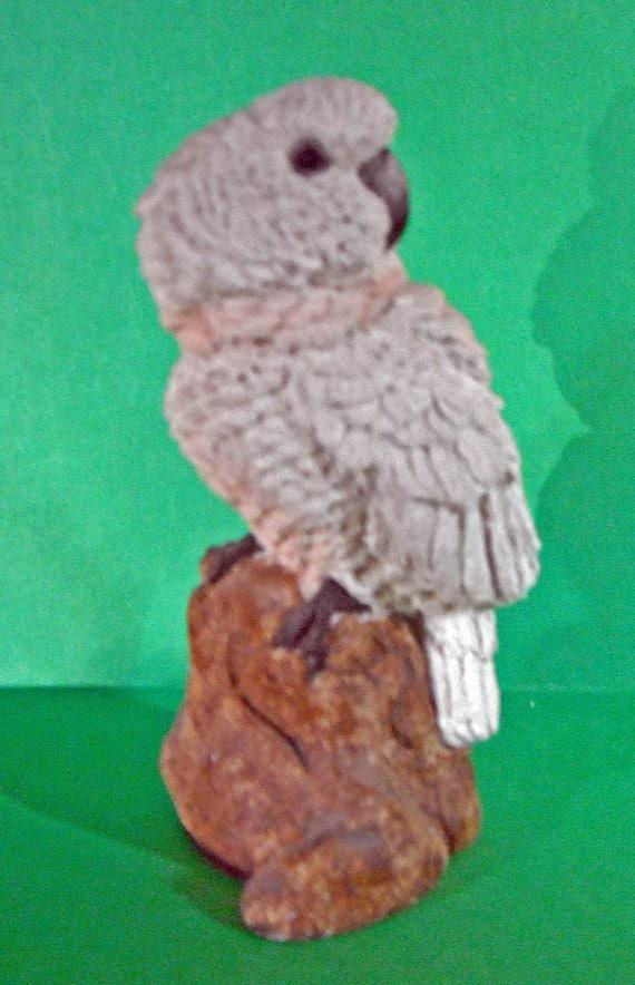 Healthy Planed Moluccan Cockatoo Figurine