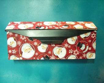 Santa faces & snowmen Wall mounted mailbox cover