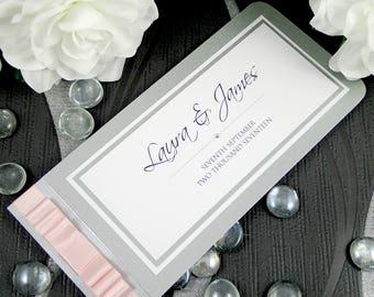 Wedding Invitation // Wedding Invite // Chequebook Wedding Invite // Invite Bundle // Wedding // Invitation // SAMPLE LISTING