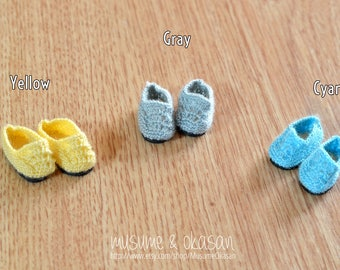 Tiny Moccassins for Lati Yellow, Pukifee, Blythe ~ Color Choice