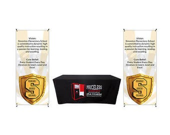 Customized Promotional Set Up Package - Free design by bannerbuzz