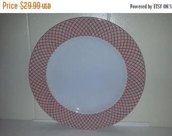 ON SALE Fitz & Floyd JAPONAISE Terra Cotta Dinner Plate Dinnerware Excellent Condition