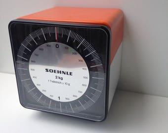 Seventies cube kitchen scale Soehnle