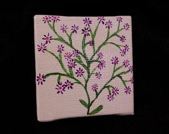 Purple Vine miniature painting