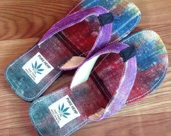 THC Free Pure Hemp Flip Flop