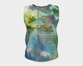 Turtle Doves Blouse Summer Loose Tank Top XS-S-M-L-XL Women's Clothes Comfort Women Teens Clothing Canadian Fashion Wearable Art Womens Tops
