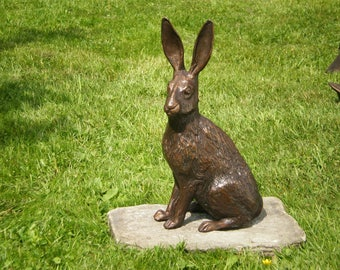 Bronze sculpture of Hare
