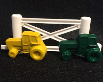 Tractor Crayons! Party favors. Farm Party