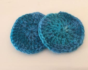 sustainable eco-friendly cleansing sponge tawashi Scrubbies set of 2 handmade