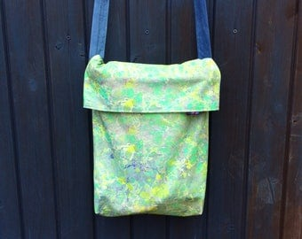 Marbled Jade cross body bag