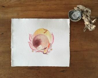 Original artwork - Watercolour on paper
