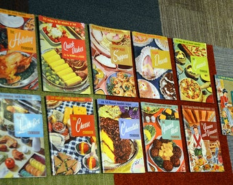 Culinary Arts Institute Cookbooks - Vintage Mid-Century Cooking Awesomeness!