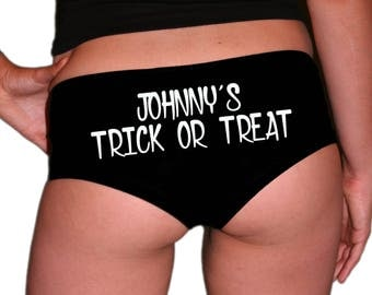 Custom Witch Halloween Panties