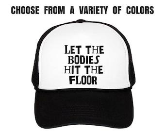 Women's Fitness Trucker Hat. Gym Hat. Workout Cap. Exercise Hat. Ladies Gym Baseball Cap. Bodies.