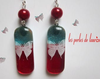 Butterfly passion earrings