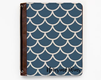 Customizable Traveler's Notebook Cover - Scallops