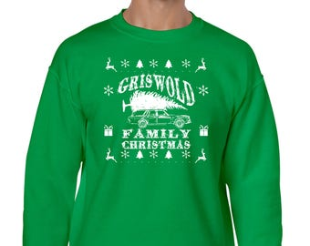 Griswold Family Christmas (Red or Green) Sweatshirt