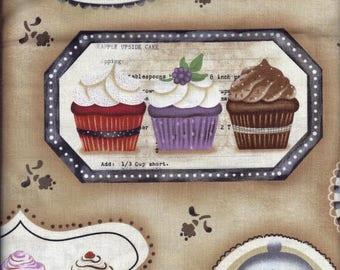 Cupcake Curtain Valance