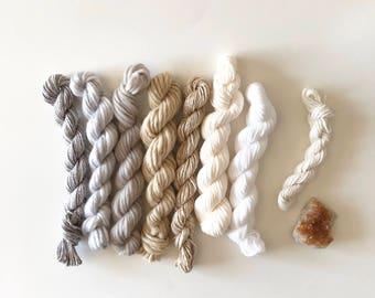 yarn pack, diy weaving, weaving yarn kit, weaving kit, yarn kit, diy craft project, diy wall hanging, textile pack, yarn for weaving