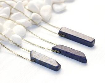 Third Eye Chakra Necklace, Lapis Lazuli Necklace, Blue Stone Necklace, Gemstone Necklace, Gemstone Jewelry, Chakra Jewelry, Chakra Healing