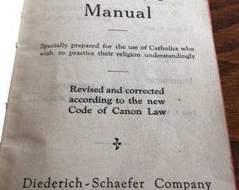 Catholic's manual rare