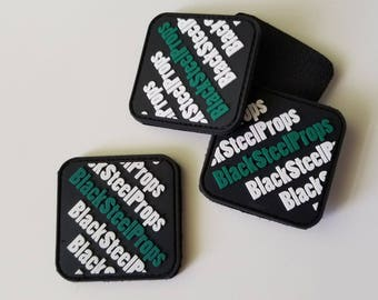 BlackSteelProps PVC Rubber Patches [FREE Worldwide Shipping!]