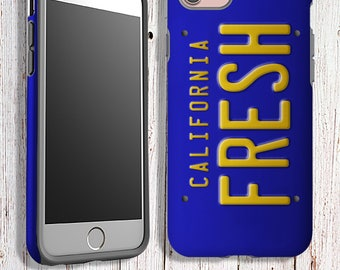 Tough Phone Case - Fresh Prince License Plate Phone Case - iPhone samsung google LG