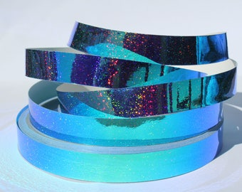 "3/4"" Aqueous Color Morph JAMtape - Hula Hoop Tape - Fish Lure Tape - Decorative Craft Tape - 50, 100, 150ft Roll"