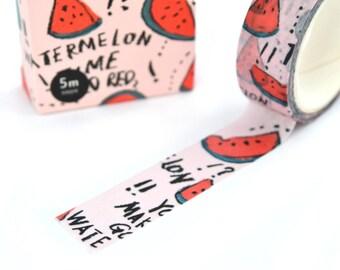 Masking tape pastèque fruit