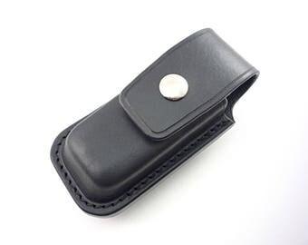 Custom Handmade Multi-Carry Leather Sheath for Leatherman Charge or Wave Multitool Knife