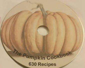 Pumpkin Recipe Book on CD - 630 Recipes