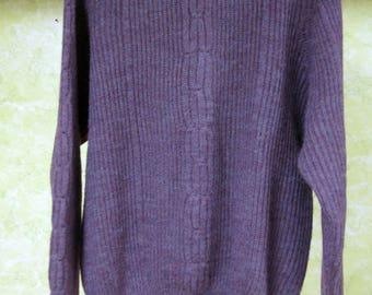 Chacarel Purple Sweater XL