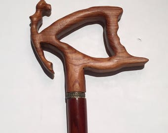 Cane of a Woman Figure