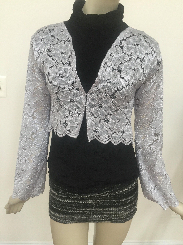 Silver Beaded Jacket